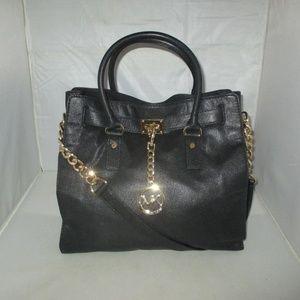 Michael Kors Hamilton Large Leather Tote Bag